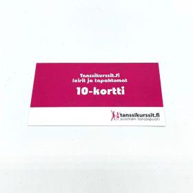 10-kortti tapahtumiin