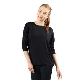 Mia-Tuote 223 Open back paita musta