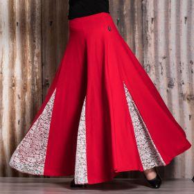 Mia-tuote 7045 tanssihame punainen/valkoinen