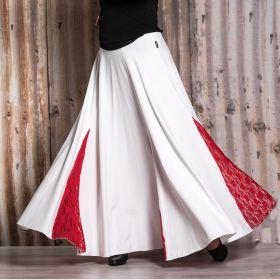 Mia-tuote 7045 tanssihame valkoinen/punainen