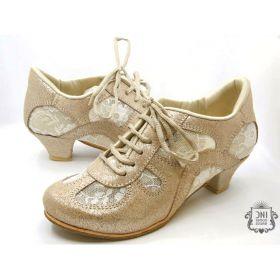 DNI Tango 8529 tanssikenkä kulta/nude