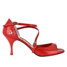 Tangolera A8B tanssikenkä punainen