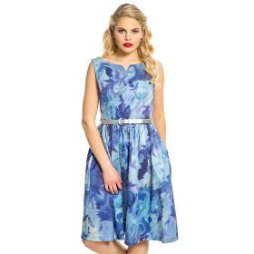 Lindy Bop Delta mekko sininen