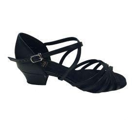 S Dancewear Eva tanssikenkä musta