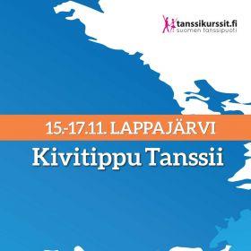 Kivitippu Tanssii 15.-17.11.2019 Lappajärvi