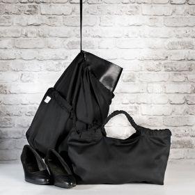 Klaara kenkäkassi musta