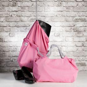 Klaara kenkäsaapaskassi vaaleanpunainen
