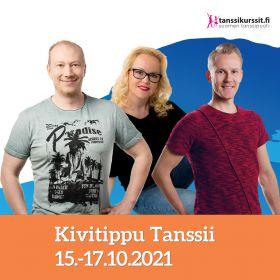 Kivitippu Tanssii 15.-17.10.2021 | Lappajärvi