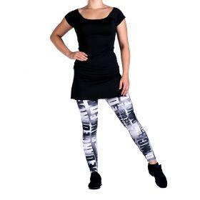 Mia-Tuote 1122 Basic tanssitunika musta