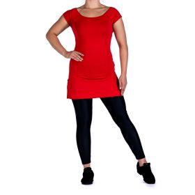 Mia-Tuote 1122 Basic tanssitunika punainen