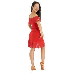 Rumpf RU3771 Havana tanssihame punainen