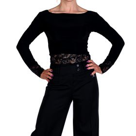 Rumpf RY5510 Avignon tanssipaita musta