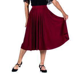 Silver Fashion 1558 tanssihame tummanpunainen